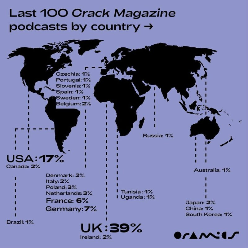 Oramics Maps @ We are Europe