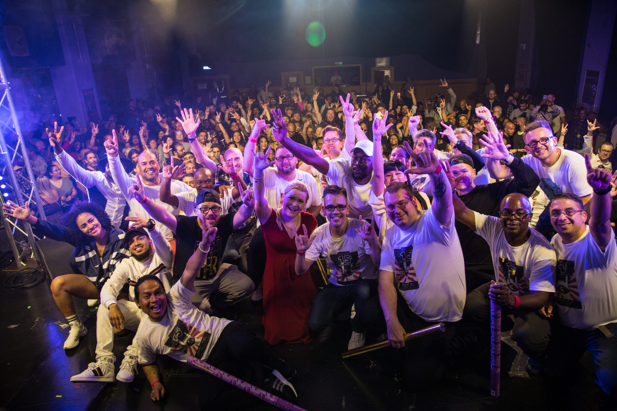 Deaf Rave Team @ We are Europe