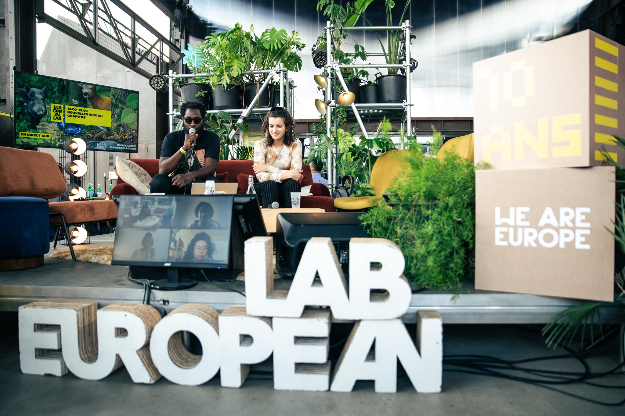 Giving a platform @ We are Europe