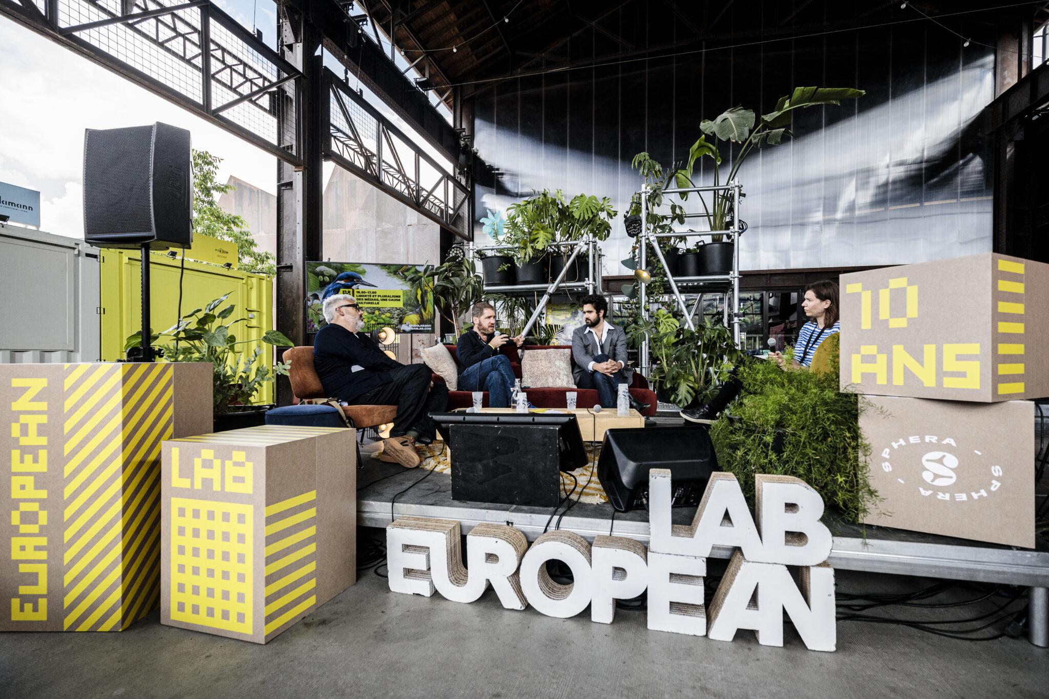 European Lab @ We are Europe